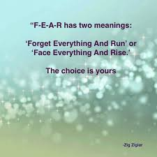 Purpose Of Life Quotes Best Love This Quote FEAR Has Two Meanings Life Quotes