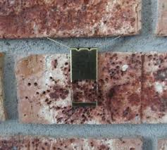 drilling into brick amazing how to hang mirror on brick wall the pin junkie hang items on brick without drill into brick or mortar joint