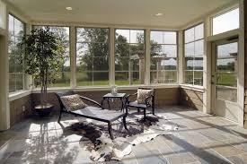modern sunroom furniture. Modern Sunroom Furniture Tile Floor Recliner Cowhide Rug S