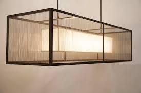 large rectangular chandelier silver drum lamp shade lighting burlap shades white