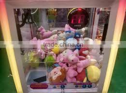 Stuffed Animal Vending Machine Enchanting Electric Toy Crane Claw Machine Kids Children Mini Plush Toy Claw