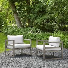 monaco patio chair with cushion