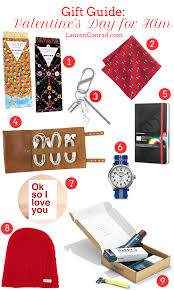 gift guide valentine s day ideas for him