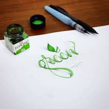 3d calligraphy and lettering by tolga girgin 1