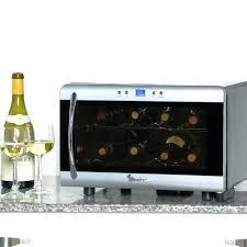 countertop wine chiller wine refrigerator magic chef 8 bottle wine cooler wine coolers at wine cooler