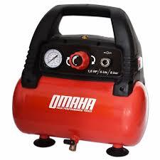 compresor de aire para pintar. compresor de aire omaha 6 litros 1.5 hp sin aceite pintar para