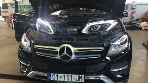 Mercedes Gle Led Intelligent Light System 2016 Mercedes Intelligent Lighting System Led Gle Headlight