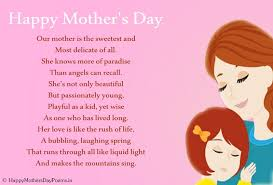 Small Picture Short Sweet Happy Mothers Day Poems 2017 Images