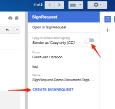 Electronic Digital Signature For Gmail Signrequest