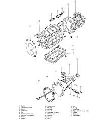 3 exploded view of the rotary engine transmission