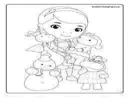 Doc Mcstuffins Coloring Pages To Print Color Page 9 Free Printable