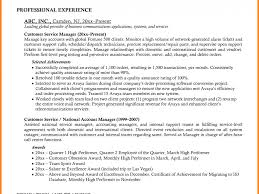 Ingenious Inspiration Customer Service Manager Resume 7 9 Resume