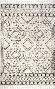 nuloom vasiliki moroccan off white area rug