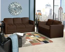 oversized sofa and loveseat. Chocolate-oversized-couches-with-pretty-rug-and-ottoman- Oversized Sofa And Loveseat