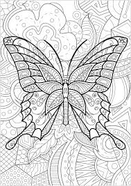 Farfalle E Insetti 21962 Farfalle E Insetti Disegni Da Colorare