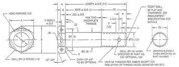 Nas Bolt Size Chart Nas Bolts Manufacturer Distributor Nas6703 Nas6710