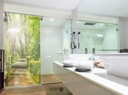 Glasdekor Dusche Druck Auf Glasdekorfolie In