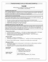 Examples Of Professional Skills For Resume Examples Of Resume Skills New Skill Resume Samples Zoro Blaszczak 8
