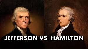 tale of the tape jefferson vs hamilton american history tale of the tape jefferson vs hamilton