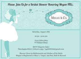 Bridal Shower Invitation Samples Sample Bridal Shower Invitations Sample Bridal Shower Invitations 5