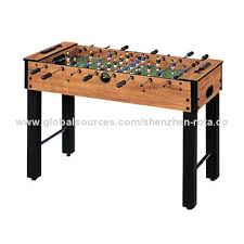 Miniature Wooden Foosball Table Game Mini Foosball Table 1000010000 Adjustable Legs with 100 Cross Bars 67