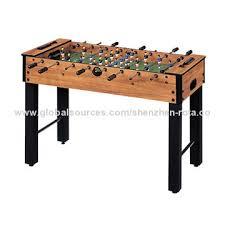 Miniature Wooden Foosball Table Game Mini Foosball Table 1000010000 Adjustable Legs with 100 Cross Bars 67