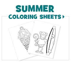 Small Picture FREE Printable Coloring Sheets Fun Ideas by Oriental Trading