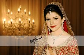beautiful and latest bridal make up by ather shahzad