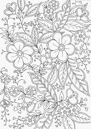 Kleurplaat Hartjes En Bloemen Foto Kleurplaten Bloemen Volwassenen
