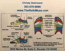 Reiki Foot Chart Reflexology As Energy Healing The Reiki Muse