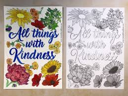 Looking for christmas coloring pages? Free Printable All Things With Kindness Colouring Page Mum In The Madhouse
