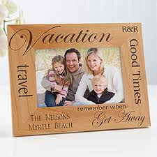 Buy personalized Vacation picture frames & find other personalized gifts at  Personalization Mall.