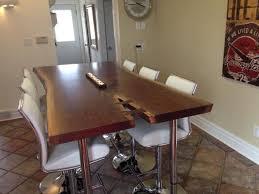 live edge table black walnut table boardroom table bar height table walnut