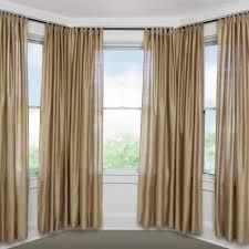Bay Window Blackout Curtains Bay Window Curtains Designs For Throughout  Blackout Curtains Bay Window (Image
