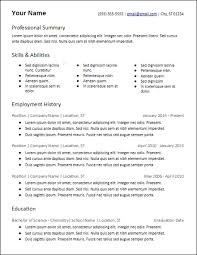 Skills Based Resume Template Mesmerizing Skills Based Resume Template 60 Columns Of Skills Format HirePowersnet