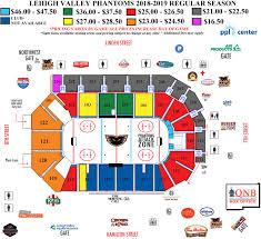 Wilkes Barre Penguins Seating Chart Lehigh Valley Phantoms Ppl Center