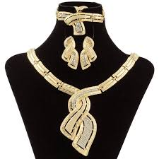 fashion african dubai gold jewelry
