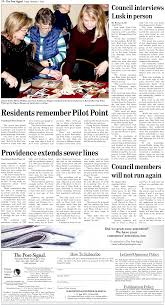 Residents remember Pilot Point