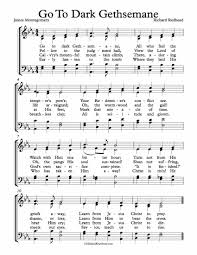 gethsemane sheet music free choir sheet music go to dark gethsemane michael kravchuk