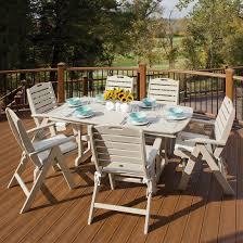 Trex Outdoor Furniture Yacht Club Highback Folding Chair Yacht