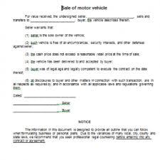 Sale Of Car Contract Motor Vehicle Contract Of Sale Rome Fontanacountryinn Com