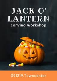 pumpkin carving contest flyer customize 43 halloween flyer templates online canva