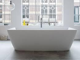 freestanding bathtub durasquare bathtub by duravit