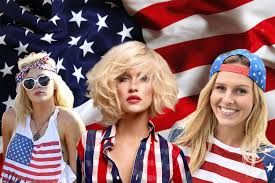 Fourth Of July Hairstyles Fourth Of July Patriotic Hairstyles Hairstyles Haircuts And