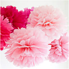 How To Make Tissue Paper Balls Decorations All Color 100 DIY Tissue Paper Pom Poms Flower Ball Wedding Party 48