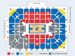 Allen Fieldhouse Seating Chart Seating Chart