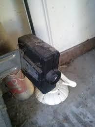 garage door sensor hood