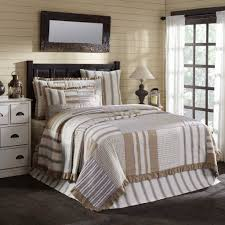 farmhouse quilt bedding. Delighful Quilt VHC Brands Grace Quilt U0026 Bedding Collection Intended Farmhouse E