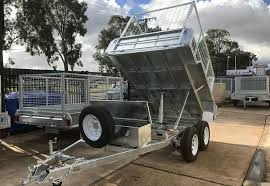 Tipping Box Trailer Designs 8x5 Tipping Trailer Adelaide