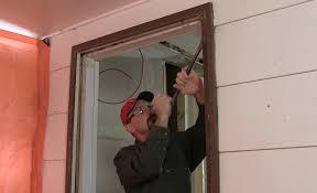 repair water damaged exterior door frame. repair water damaged exterior door frame h